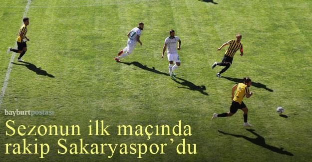 AN Zentrum Bayburtspor, ligin ilk maçında Sakaryaspor'u ağırladı