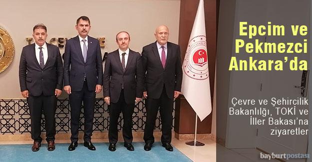 Başkan Pekmezci'den Ankara'da ziyaretler