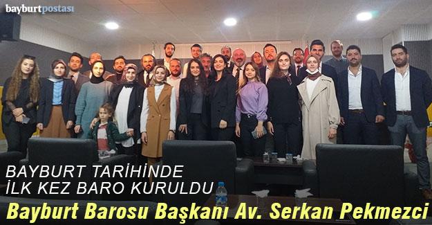 Bayburt Barosu Başkanı Avukat Serkan Pekmezci