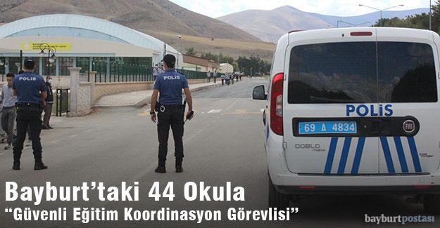 """Bayburt'taki 44 Okula """"Güvenli Eğitim Koordinasyon Görevlisi"""""""