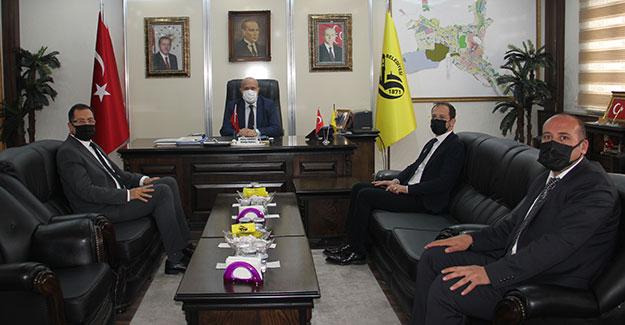 DSİ Trabzon Bölge Müdüründen Başkan Pekmezci'ye ziyaret