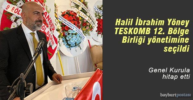 Halil İbrahim Yöney, TESKOMB 12. Bölge Birliği yönetiminde