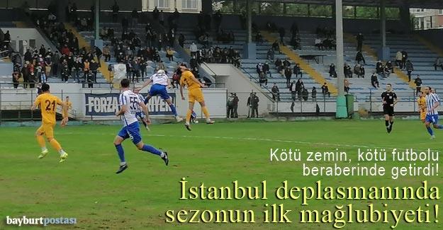 An Zentrum Bayburt Özel İdarespor, İstanbul'da ilk yenilgisini aldı!
