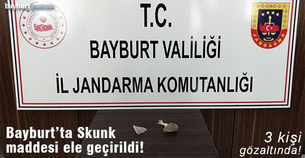 Bayburt'ta Skunk maddesi ve Skung tohumları ele geçirildi!