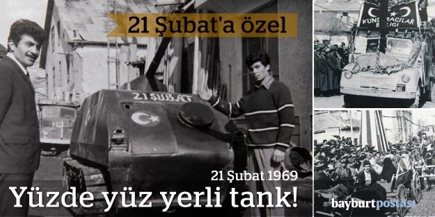 21 Şubat'a özel yüzde yüz yerli tank!
