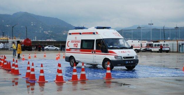 64 ilde 3 bin ambulans şoförü alınacak
