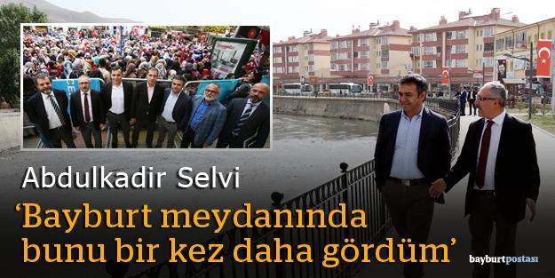 """Abdulkadir Selvi: """"Erdoğan'la Bayburt'ta"""""""