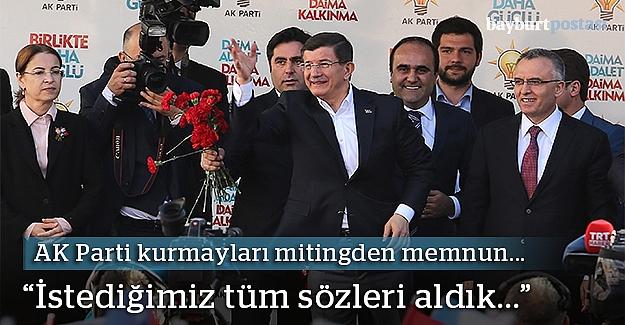 """Ağbal: """"Başbakanımız tarihi müjdeler verdi"""""""