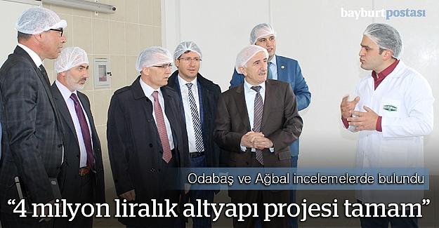 """Ağbal: """"OSB'nin doğalgaz ve altyapı sorununu çözüyoruz"""""""
