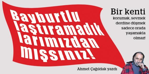Ahmet Çağıldak yazdı: