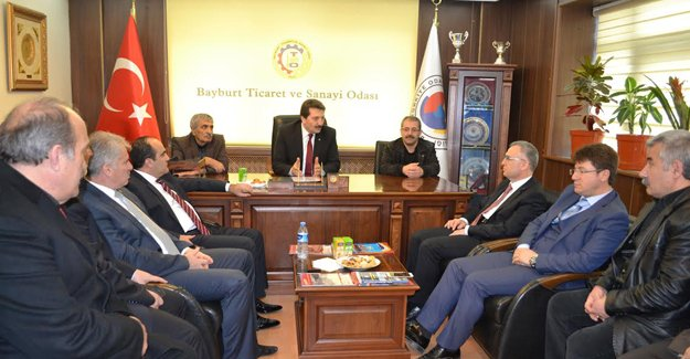 AK Parti'den Ticaret Odasına ziyaret