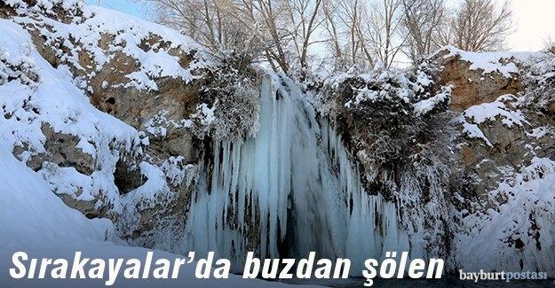 Sırakayalar'da buzdan şölen