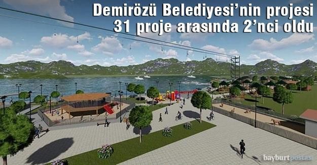 Demirözü Belediyesi'nden 'Özlenen Denizi Özendiren Demirözü Barajı' projesi