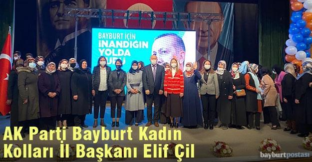 AK Parti Bayburt Kadın Kolları İl Başkanı Elif Çil