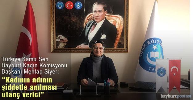 """Mehtap Siyer: """"Kadının adının şiddetle anılması utanç verici!"""""""