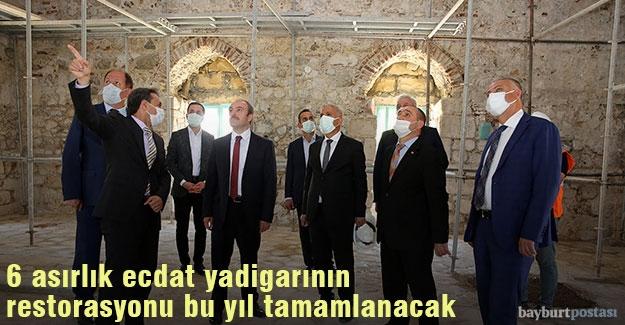 Ferahşad Bey Cami'nin restorasyonu bu yıl tamamlanacak