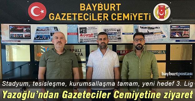 """Bayburt İstanbul FK Başkanı Bünyamin Yazoğlu: """"Yeni sezonda hedef 3. Lig"""""""