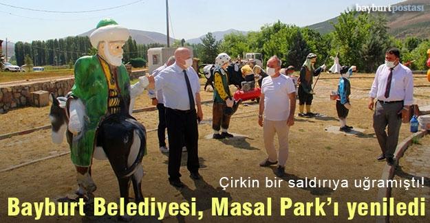 Bayburt Belediyesi, Masal Park'ı yeniledi