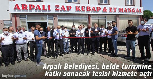 Arpalı Zap Kebap Et-Mangal Lokantası Hizmete Açıldı