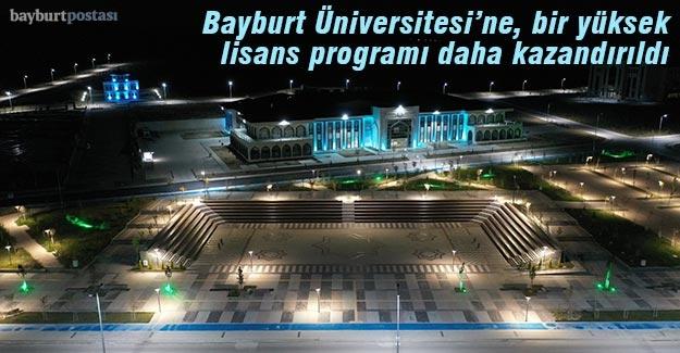 Bayburt Üniversitesi'nde Türkçe Eğitimi Tezli Yüksek Lisans Programı