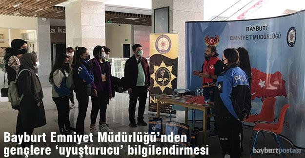 """Bayburt Üniversitesi'nde """"El Ele Güvenli Geleceğe"""" projesi tanıtıldı"""