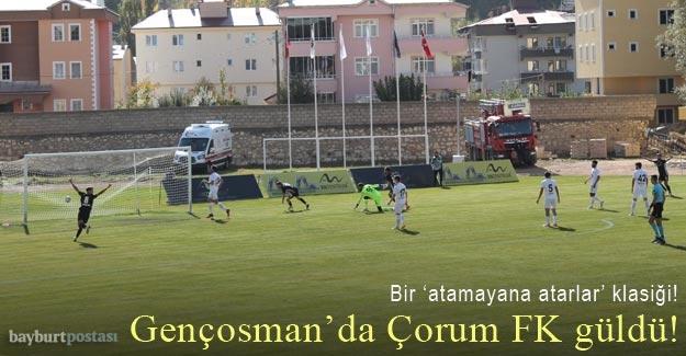 Bayburt Özel İdarespor, Gençosman'da ilk kez mağlup!