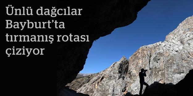 ATAK, 'Bayburt'un tırmanış rotaları'nı belirliyor