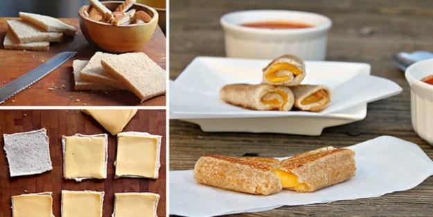 Atıştırmalık bir tat: Kızarmış peynir ruloları
