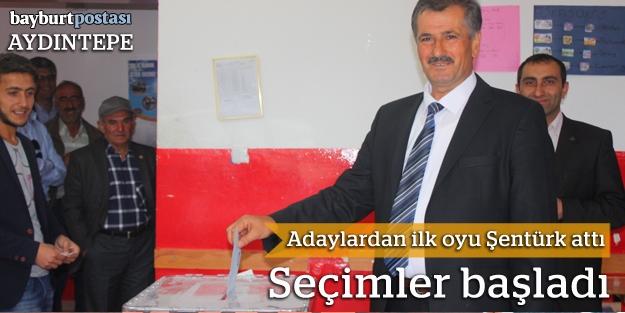 Aydıntepe'de oy verme işlemi başladı