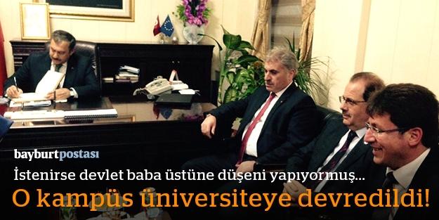 Bakanlığın o kampüsü üniversiteye devrediliyor