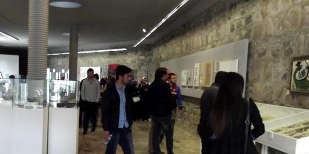 Baksı Müzesi'ne öğrenci çıkarması