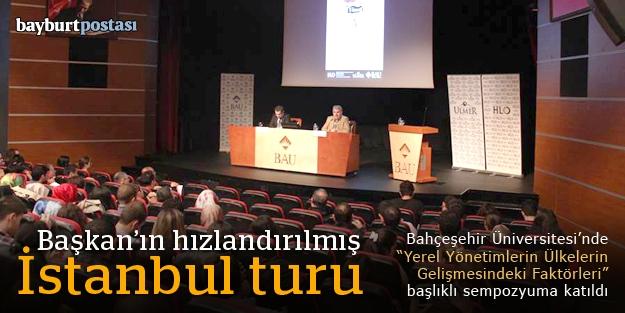 Başkan Memiş'in İstanbul ziyaretleri...