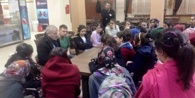 Başkan Memiş'ten öğrenci yurdu ziyareti