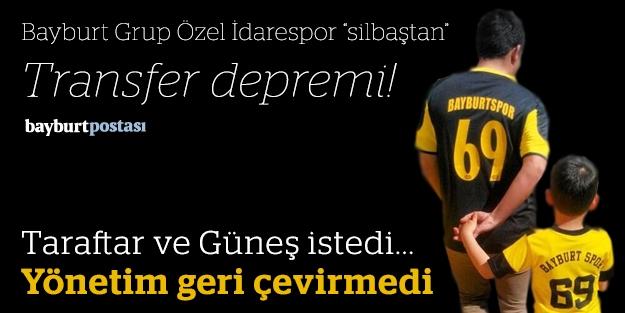 """Bayburt Grup Özel İdarespor """"sil baştan""""..."""