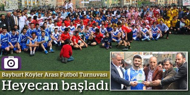 Bayburt Köyler Arası Futbol Turnuvası başladı