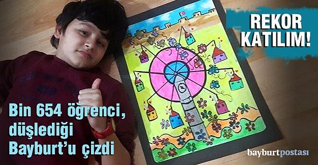 Bayburt Öğrenci Sanat Şenliği'ne rekor katılım