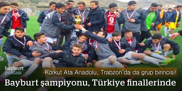 Bayburt şampiyonu, Türkiye finallerinde!