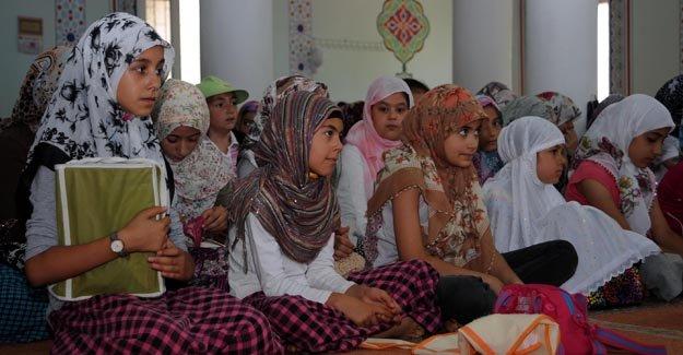 Bayburt'ta yaz Kuran kursları düzenlenecek
