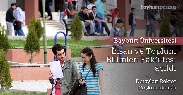 Bayburt Üniversitesi'ne yeni fakülte