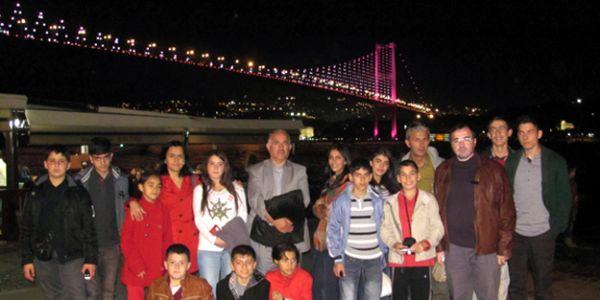 Bayburtlu küçük sanatçılar İstanbul'da!