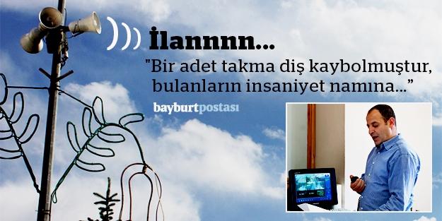 Bayburt'ta 'anons' geleneği sürüyor