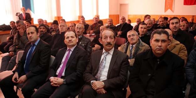 """Bayburt'ta """"Genel Arıcılık"""" konferansı"""