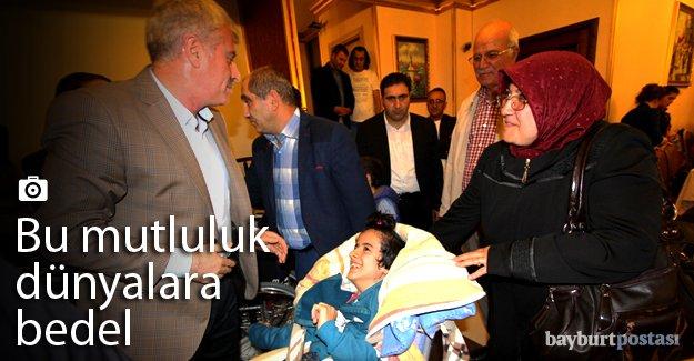Engelli vatandaşlarla iftarda buluştu