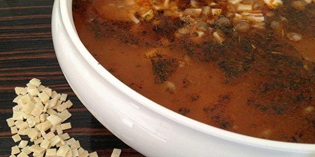 Bir Bayburt lezzeti: Kesme çorbası