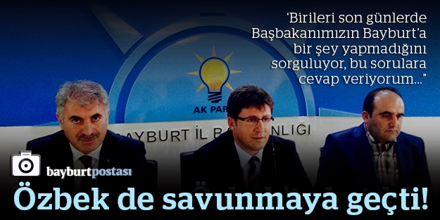 """""""Birileri Erdoğan'ın Bayburt'a bir şey yapmadığını sorguluyor!"""""""