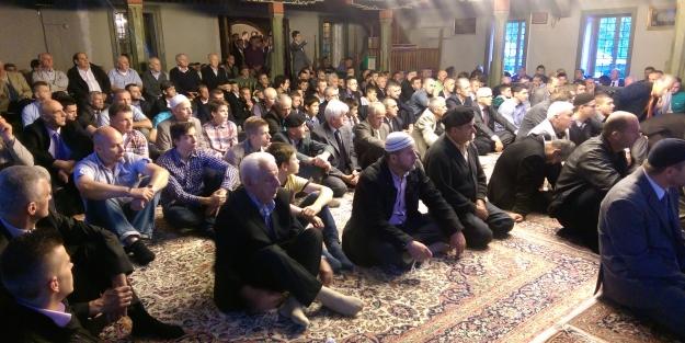 Bosnalı Müslümanlar bayramda Filistinlileri unutmadı