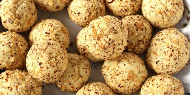 Cevizli pekmezli kurabiye tarifi