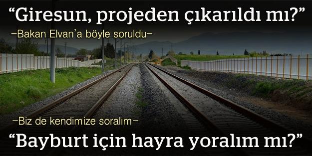 Demiryolu projesi 'henüz' etüt aşamasına...