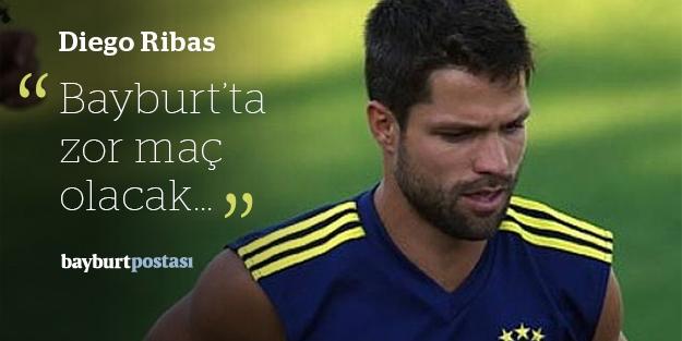 Diego Ribas, Bayburt maçını değerlendirdi
