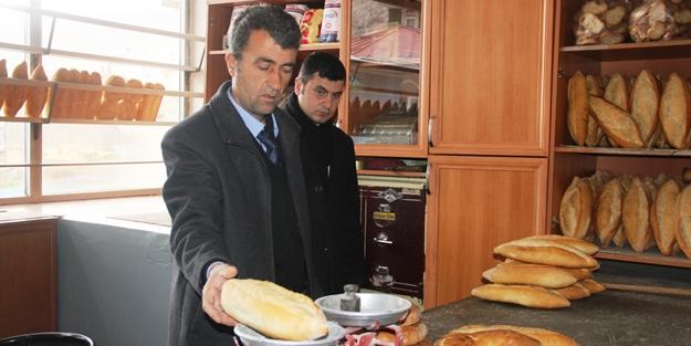 Eksik gramajlı ekmekler toplatıldı